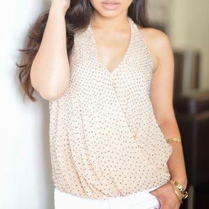 Tops - Like New beaded Zara top